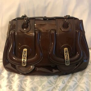 Authentic Fendi Patent Leather Belt Bag